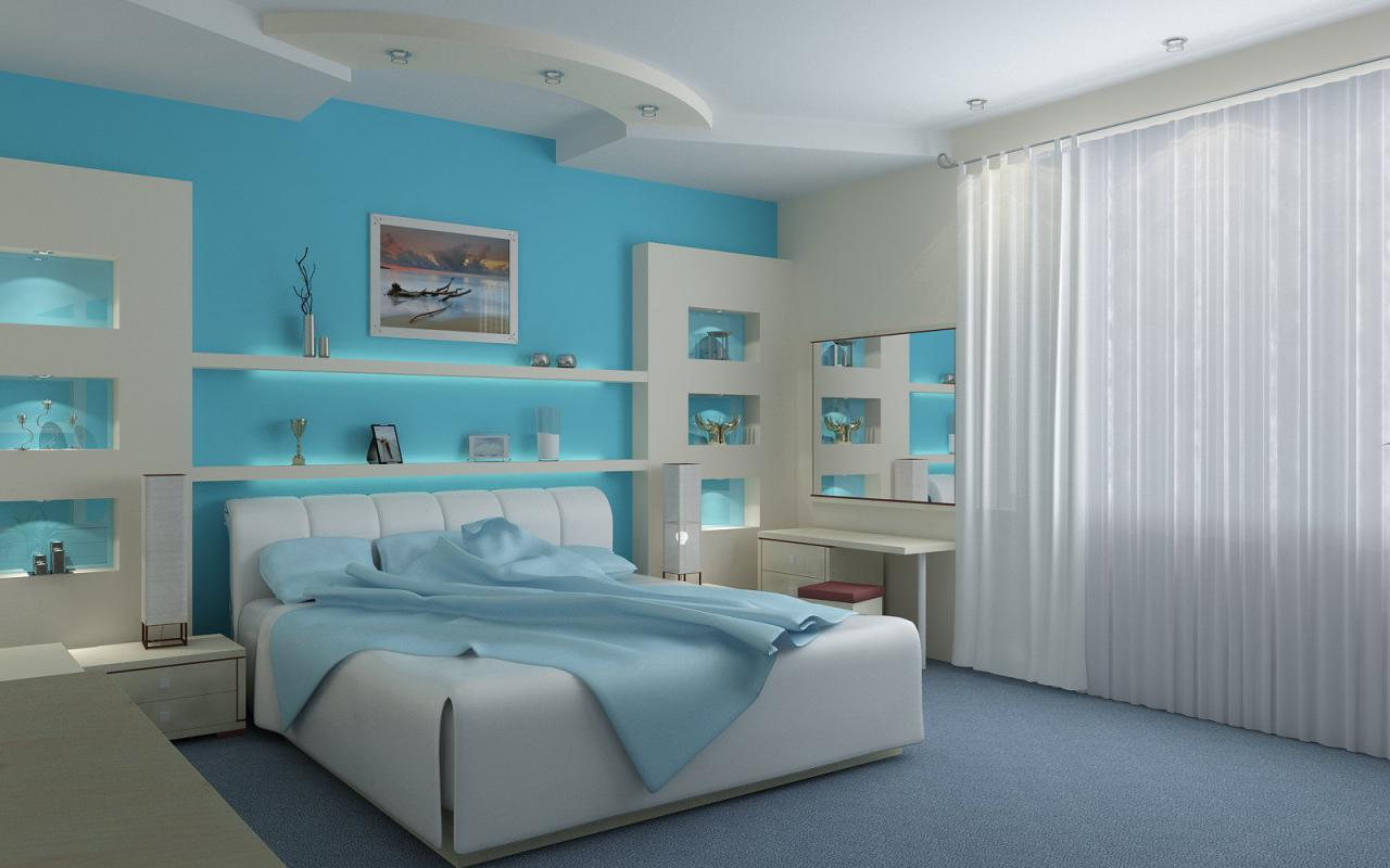 colorful bedroom designs picture - Colorful Bedroom