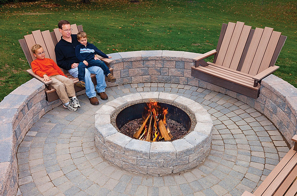 Unique Patio Designs - Stone patio design