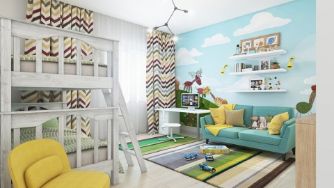 Home décor - allow your child to personalize his own room